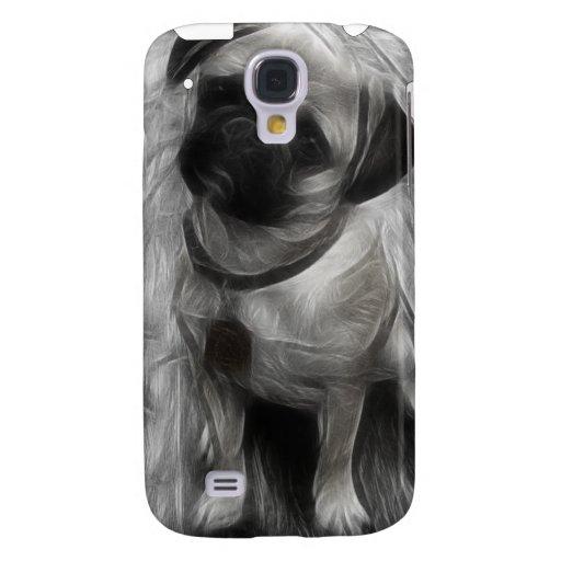 Cubierta del fractal iPhone3G de la acuarela del b