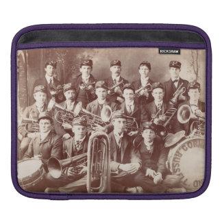 cubierta del iPad, banda del cucurucho de Russell, Funda Para iPad