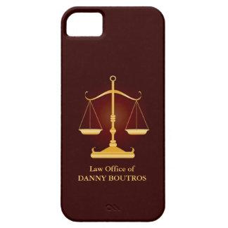Cubierta del iPhone 5 de la escala de la ley Funda Para iPhone SE/5/5s