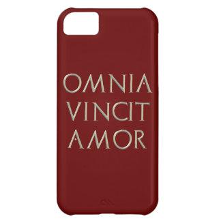 Cubierta del iPhone 5 de Omnia Vincit Amor