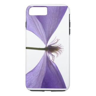 Cubierta del iPhone 7 de la flor del Clematis Funda iPhone 7 Plus