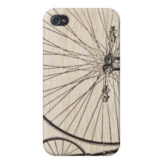 Cubierta del iPhone de la bicicleta del vintage iPhone 4 Protector