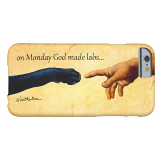"Cubierta del iphone de las ampollas ""en los funda barely there iPhone 6"