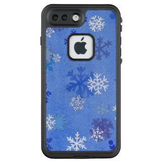 cubierta del iPhone del copo de nieve