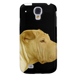 Cubierta del iPhoneG del perrito de Sharpei Funda Para Galaxy S4
