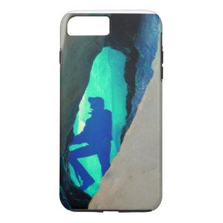 Cubierta del ipone de la cueva de hielo funda iPhone 7 plus