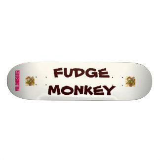 cubierta del mono del dulce de azúcar monopatín 18,7 cm