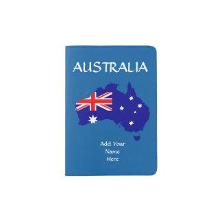 Cubierta del pasaporte de Australia Portapasaportes