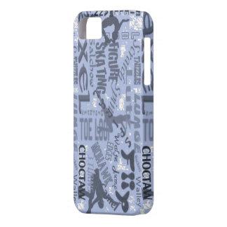 Cubierta del patinaje artístico Iphone Funda Para iPhone SE/5/5s