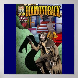 Cubierta del problema 1 de Diamondback Impresiones