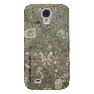 Cubierta del teléfono de la galaxia S4 de la textu Samsung Galaxy S4 Cover