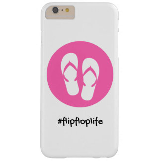 cubierta del teléfono del #flipfloplife del iphone funda barely there iPhone 6 plus