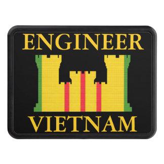 Cubierta del tirón de las insignias del ingeniero