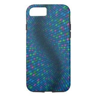 Cubierta (dura) azulada deformada del iPhone 7 de Funda iPhone 7