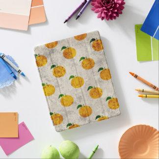 Cubierta elegante de la fruta del iPad anaranjado Cover De iPad
