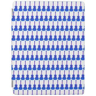 cubierta elegante de la tableta azul de las