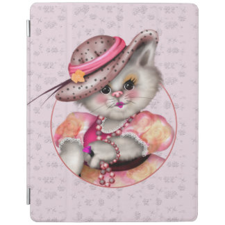 Cubierta elegante del iPad 2/3/4 de SEÑORA CAT
