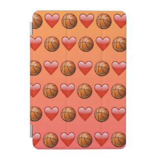 Cubierta elegante del iPad de Emoji del baloncesto