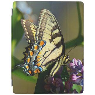 Cubierta elegante del iPad de la mariposa de
