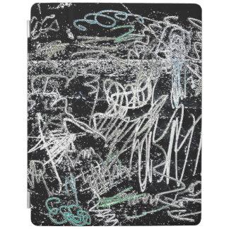 Cubierta elegante del iPad de los garabatos Cover De iPad