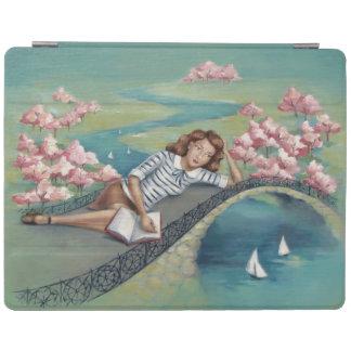 Cubierta elegante del iPad del chica del Cubierta De iPad