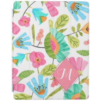 Cubierta elegante del iPad floral de moda del Cover De iPad