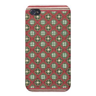 cubierta elegante del teléfono de la impresión iPhone 4 coberturas
