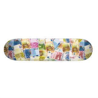 Cubierta euro del monopatín de la imagen de la