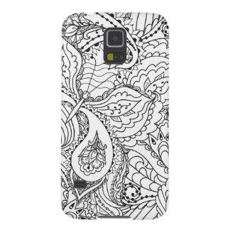 Cubierta hermosa del teléfono del arte de Pensel Funda Galaxy S5
