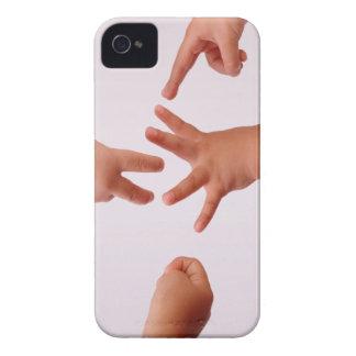 Cubierta intrépida de la caja de Blackberry de las Case-Mate iPhone 4 Fundas