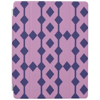 Cubierta modelada púrpura del iPad Cover De iPad