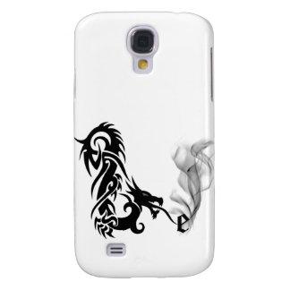 Cubierta negra del monograma E iPhone3G de la resp