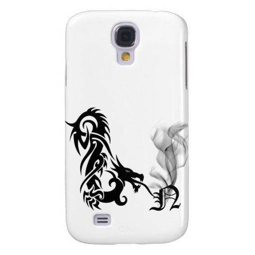 Cubierta negra del monograma N iPhone3G de la resp