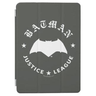 Cubierta Para iPad Air Emblema retro del palo de la liga de justicia el |
