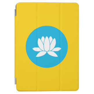 Cubierta Para iPad Air Kalmukia señala por medio de una bandera