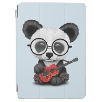 Cubierta Para iPad Air Panda del bebé que toca la guitarra albanesa de la