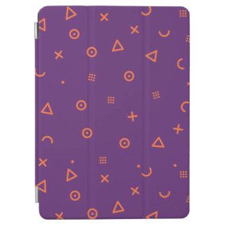 Cubierta Para iPad Air Partículas felices púrpuras