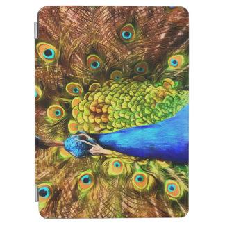 Cubierta Para iPad Air Pavo real colorido