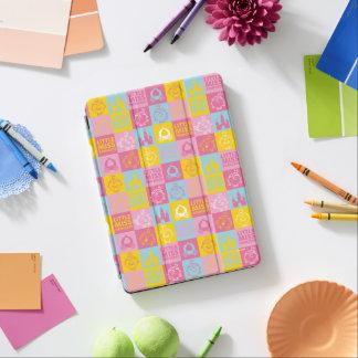 Cubierta Para iPad Air Pequeño modelo en colores pastel bonito de la