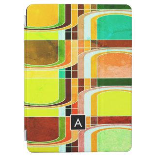Cubierta Para iPad Air Retro enrrollado colorido inspirado