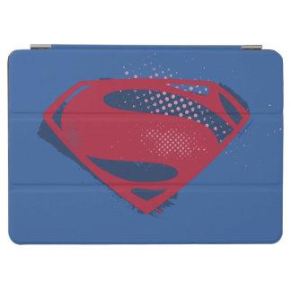 Cubierta Para iPad Air Símbolo del superhombre del cepillo y del tono