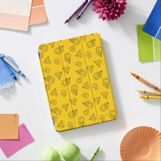 Cubierta Para iPad Air Sr. Happy y pequeño modelo amarillo de Srta.