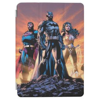 Cubierta Para iPad Air Superhombre, Batman, y trinidad de la Mujer