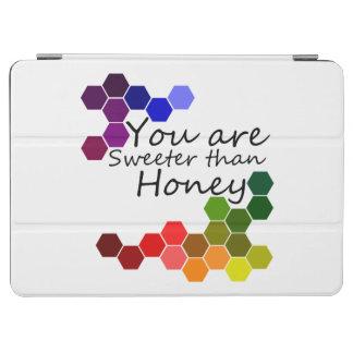 Cubierta Para iPad Air Tema de la miel con palabras positivas