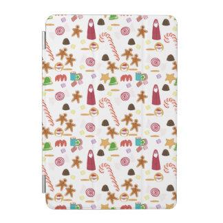 Cubierta Para iPad Mini Caramelos de los Sweeties del navidad, bastón de