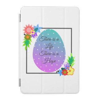Cubierta Para iPad Mini Huevo lindo del lunar con la guirnalda floral
