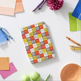 Cubierta Para iPad Mini Pequeña Srta. Sunshine modelo rojo y amarillo del