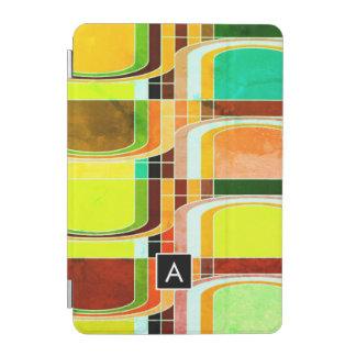Cubierta Para iPad Mini Retro enrrollado colorido inspirado