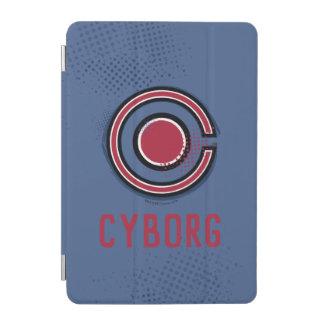 Cubierta Para iPad Mini Símbolo del Cyborg del cepillo y del tono medio de