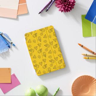 Cubierta Para iPad Mini Sr. Happy y pequeño modelo amarillo de Srta.